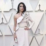 Nadine Labaki en la alfombra roja de los Oscar 2019