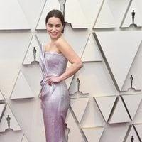 Emilia Clarke en la alfombra roja de los Oscar 2019