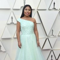 Yalitza Aparicio on the red carpet at the Oscars 2019