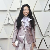 Awkwafina on the red carpet at the 2019 Oscars