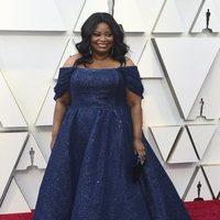 Octavia Spencer en la alfombra roja de los Oscars 2019