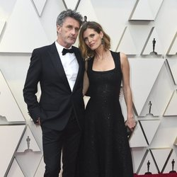 Pawel Pawlikowski y Malgosia Bela en la alfombra roja de los Oscar 2019