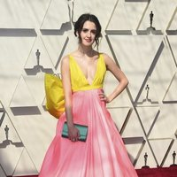 Laura Marano on the red carpet at the 2019 Oscars