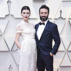 Marta Nieto y Rodrigo Sorogoyen en la alfombra roja de los Oscar 2019