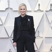 Amy Poehler on the red carpet at the Oscars 2019