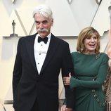 Sam Elliott y Katharine Ross en la alfombra roja de los Oscars 2019