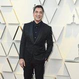 Javier Bardem en la alfombra roja de los Oscar 2019