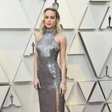 Brie Larson en la alfombra roja de los Oscar 2019