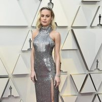 Brie Larson at the Oscars 2019 red carpet