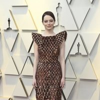 Emma Stone en la alfombra roja de los Oscar 2019