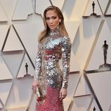 Jennifer Lopez en la alfombra roja de los Oscar 2019