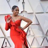 Jennifer Hudson en la alfombra roja de los Oscar 2019
