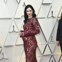 Krysten Ritter en la alfombra roja de los Oscar 2019