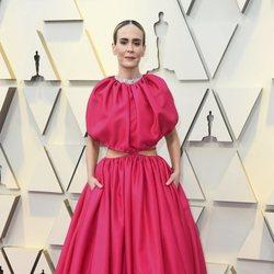 Sarah Paulson en la alfombra roja de los Oscar 2019