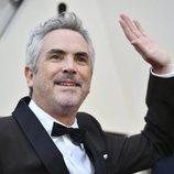 Alfonso Cuarón en la alfombra roja de los Oscar 2019