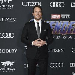 Chirs Pratt en la alfombra roja de 'Vengadores: Endgame'