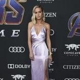 Brie Larson en la alfombra roja de 'Vengadores: Endgame'