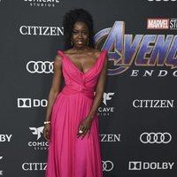 Danai Gurira en la alfombra roja de 'Vengadores: Endgame'