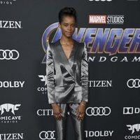 Letitia Wright en la alfombra roja de 'Vengadores: Endgame'