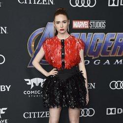 Karen Gillan en la alfombra roja de 'Vengadores: Endgame'