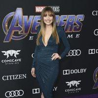 Elizabeth Olsen en la alfombra roja de 'Vengadores: Endgame'