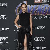 Natalie Portman en la alfombra roja de 'Vengadores: Endgame'