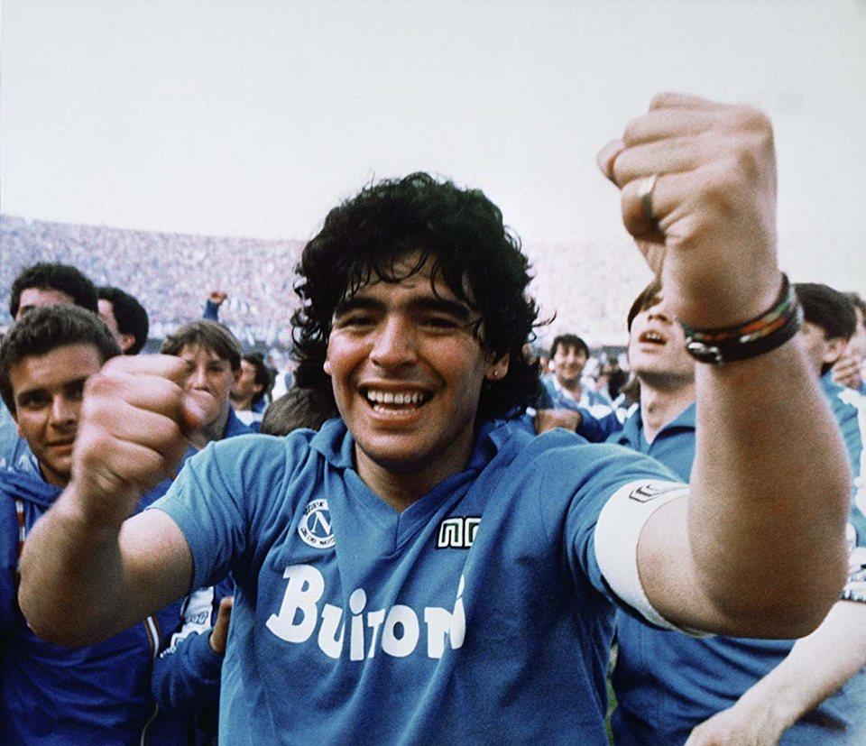 Diego Maradona, fotograma 2 de 12