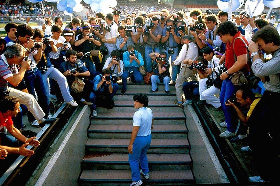 Diego Maradona, fotograma 1 de 12