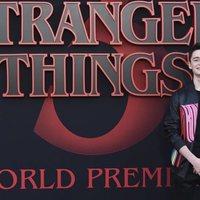 Noah Schnapp en la premiere de la tercera temporada de 'Stranger Things'