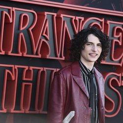 Finn Wolfhard en la premiere de la tercera temporada de 'Stranger Things'