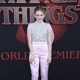 Sadie Sink en la premiere de la tercera temporada de 'Stranger Things'