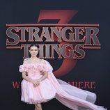 Millie Bobby Brown en la premiere de la tercera temporada de 'Stranger Things'