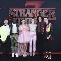 Los protagonistas de 'Stranger Things' en la premiere de la tercera temporada