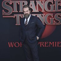 David Harbour en la premiere de la tercera temporada de 'Stranger Things'