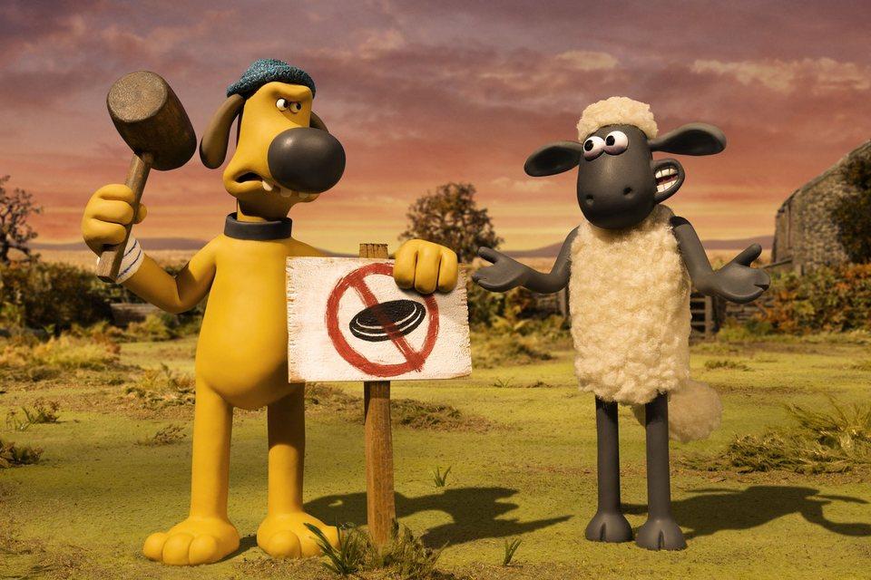 La oveja Shaun. La película: Granjaguedon, fotograma 48 de 52