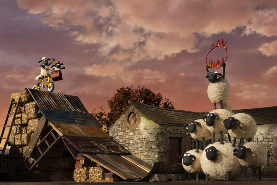 La oveja Shaun. La película: Granjaguedon, fotograma 46 de 52