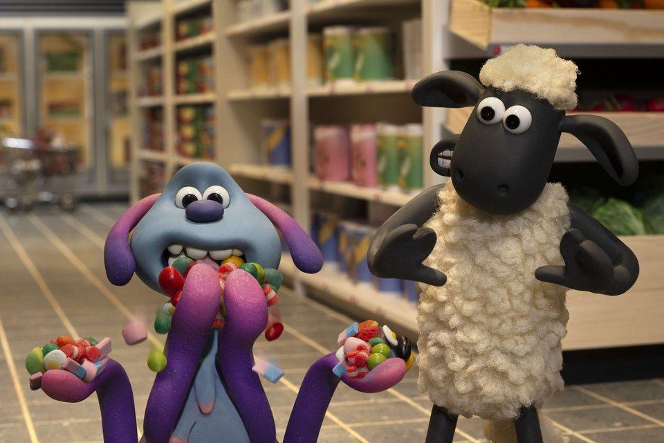 La oveja Shaun. La película: Granjaguedon, fotograma 31 de 52