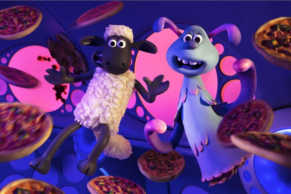 La oveja Shaun. La película: Granjaguedon, fotograma 18 de 52