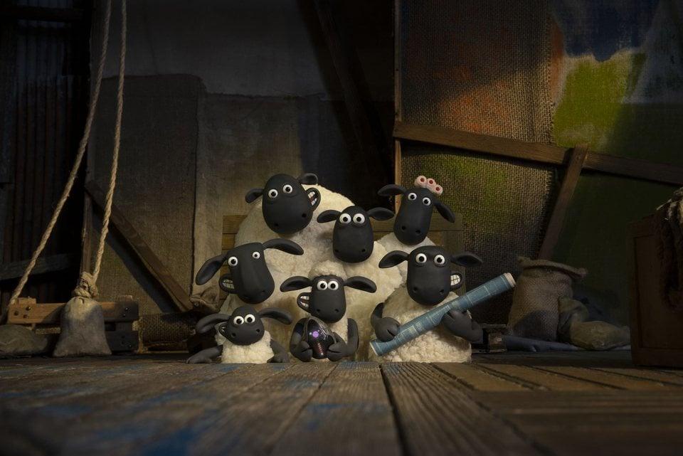 La oveja Shaun. La película: Granjaguedon, fotograma 13 de 52