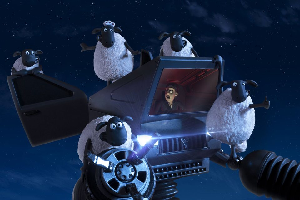 La oveja Shaun. La película: Granjaguedon, fotograma 10 de 52