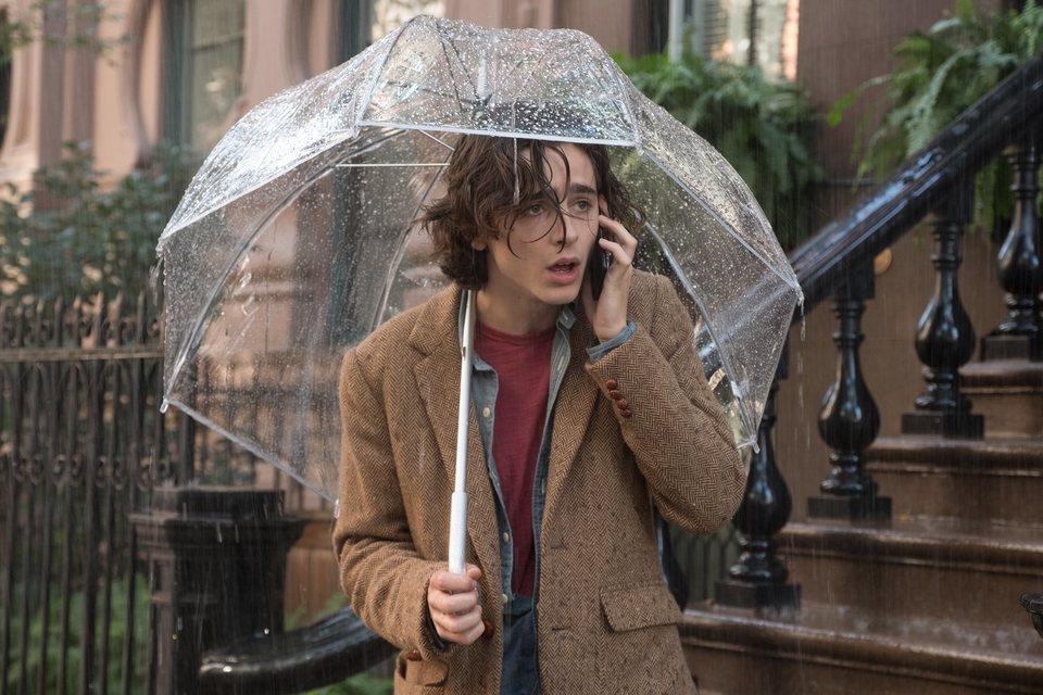 Día de lluvia en Nueva York, fotograma 1 de 10