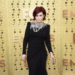 Sharon Osbourne en la alfombra roja de los Emmy 2019