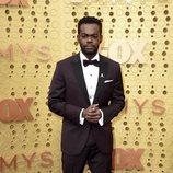 William Jackson Harper en la alfombra roja de los Emmy 2019