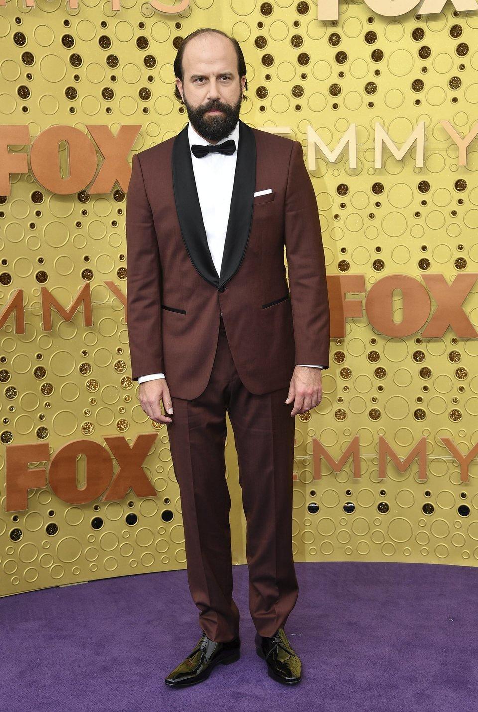Brett Gelman en la alfombra roja de los Emmy 2019