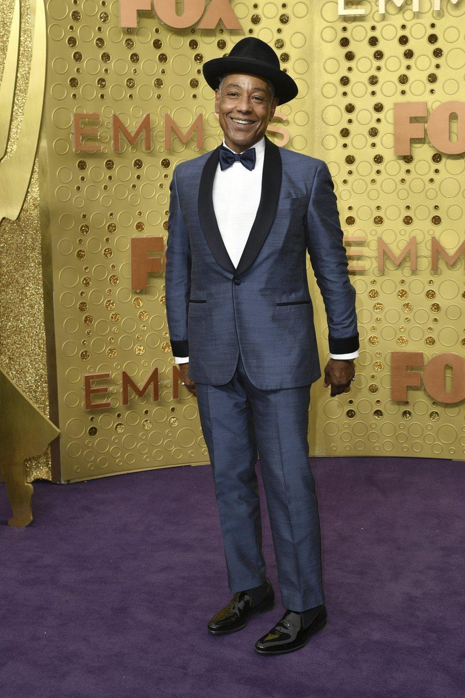 Giancarlo Esposito en la alfombra roja de los Emmy 2019