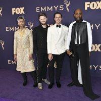 Los presentadores de 'Queer Eye' en la alfombra roja de los Emmy 2019