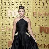 Mackenzie Hancsicsak en la alfombra roja de los Emmy 2019