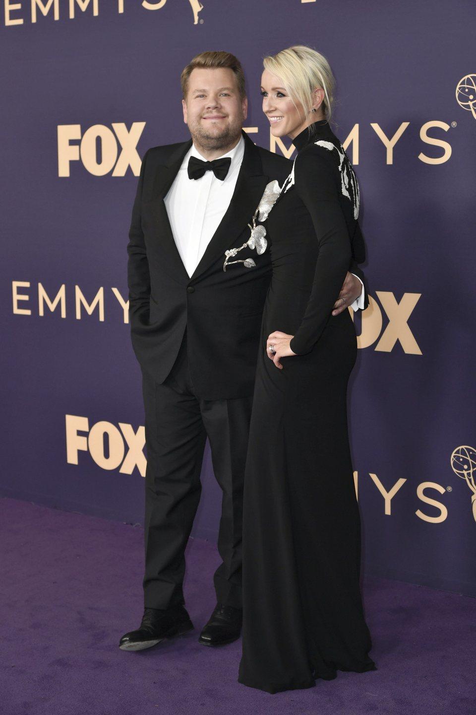 James Corden en la alfombra roja de los Emmy 2019