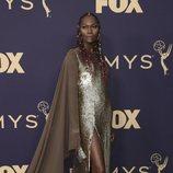 Dominique Jackson en la alfombra roja de los Emmy 2019