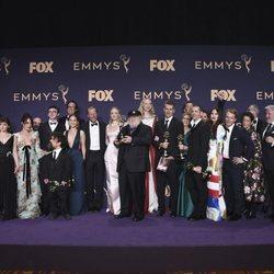 El equipo de 'Juego de Tronos' Emmy 2019
